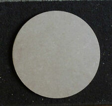 6mm thickness MDF Wooden Circle Shape Pack of 3 ( 12.5 cm  round )