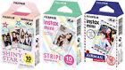30 Fuji Instax Mini 8 Films Airmail /Stripes /Shinystar Fujifilm SP-1 Mini 90/50