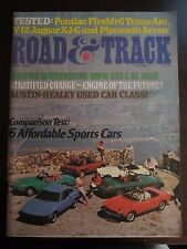 Road & Track Magazine June 1976 Affordable Sports Cars No Label (GG)