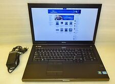 Dell Precision M6700 laptop 2.7 ghz QUAD core i7 8GB 256gb SSD Windows 10 P