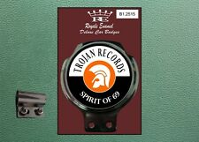 Royale Classic Car Badge & Bar Clip TROJAN SKA ROCKSTEADY REGGAE SKINS B1.2515