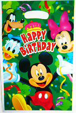 MICKEY MOUSE BIRTHDAY PARTY LOOT/LOLLY BAGS NEW!