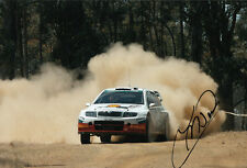 Colin McRae Hand Signed Škoda Motorsport Photo 12x8 1.
