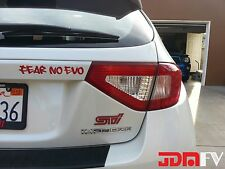 08-14 WRX STi Hatchback Tail Light PRECUT CUTOUT REDOUT TINT Overlays Vinyl Film