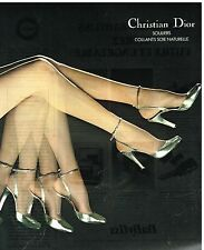 Publicité Advertising 1976 Les Chaussures Escarpins Souliers Christian Dior