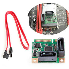 PCIe PCI-Express to 2 Ports SATA 3.0 III 6Gb/s Expansion Card Single Chip Mini