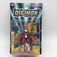 Digimon Digivolving Limited Edition FLAMEDRAMON New Trading Card 2001 Bandai