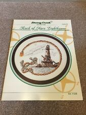 Stoney Creek Collection ROCKS OF AGES LIGHTHOUSE Cross Stitch Pattern / Chart