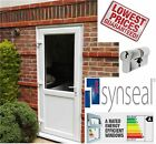 UPVC BACK DOOR NEW MADE TO MEASURE ANY SIZE. £249. FREE DELIVERY SYNSEAL SYNERJY