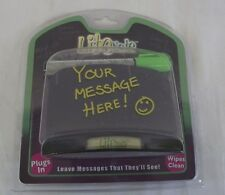 New Lite Note Night Light Plug In Message Board Lighted