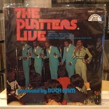 EXC LP~The PLATTERS~Live In Person~And You Are There!~{OG 1974~ANTLER~Issue]~