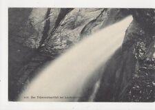 Der Truemmelbackfall bei Lauterbrunnen Vintage Postcard Switzerland 646a