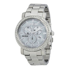 Citizen AML White Dial Stainless Steel Ladies Watch CZFB1410-58A