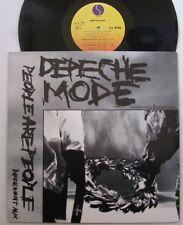 """DEPECHE MODE (Maxi 45T 12"""")  PEOPLE ARE PEOPLE  3 TRACKS USA SIRE RECORDS 020214"""