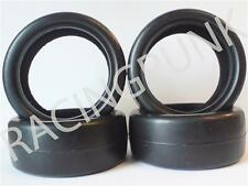 RC 1/10 EP Elettrico Auto 26mm Liscio Pro Compound DRIFT Deriva PNEUMATICI GOMME 4 PC