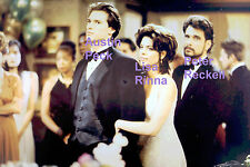DAYS OF OUR LIVES DOOL AUSTIN PECK LISA RINNA PETER RECKELL TV SCENE PHOTO