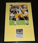 Eric Reid Signed Framed Rookie Card & Photo Display LSU 49ers