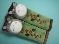 Totoro Cat Car Seat Belt Cover One Pair ~ Green Free Shipping