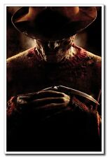 "A Nightmare on Elm Street Horror Freddy Krueger 24""x16"" Silk Poster Wall Decals"