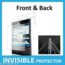 BlackBerry Passport INVISIBLE Screen Protector Shield Full Skin FRONT AND BACK