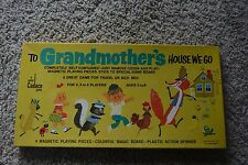 "Vintage 1974 Cadaco ""To Grandmother's House We Go"" Magnetic Board Game COMPLETE!"