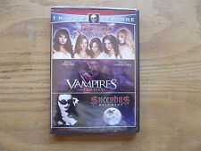 Vampires: Out for Blood/Blood Angels/Succubus (DVD, 2010, 2-Disc Set) New