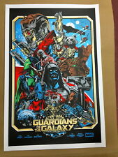 Guardians Of The Galaxy Movie Screen Print Poster Iaccarino