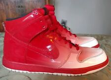 Nike Dunk High Supreme Spark Destroyer's Pack Red/White Size 12 #349710