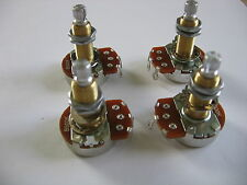 ALPHA POTI SET 2 x Vol. A500K + 2 x Tone B500K FOR EPIPHONE / GIBSON L P