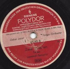 Oscar Joost Orchester 1938 spielt Tangos : Tango Bolero + Zwei Gitarren, Tango