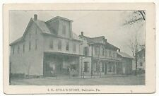 IE Still's General Store DALMATIA PA Vintage Northumberland County Postcard