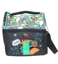 Phineas and Ferb Perry Double Compartment Lunch Bag, New