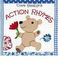 Clare Beatons Action Rhymes,GOOD Book