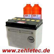 Batterie 12V 30 Ah DIN 53030 Rasenmäher Motorrad 184x123x167mm Pluspol rechts