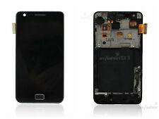 Black For SamSung Galaxy S2 i9100 Full LCD Touch Glass Screen Digitizer & Frame