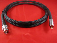 1.5 ft. Belden 1694A  75 Ohm Cable w/ Canare  RCAP-C53 Gold RCA to BNC.