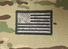 Multicam and Black US Flag Morale Patch Special Forces Operations Devgru