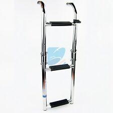 Stainless Marine Boat Folding Pontoon Transom Boarding Ladder 3 Step Narrow Type