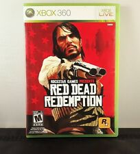 Red Dead Redemption - Video Game - Microsoft Xbox 360 - FAST FREE SHIPPING