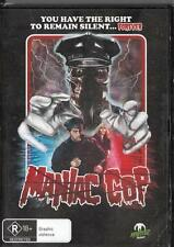 MANIAC COP -  NEW & SEALED  REGION 4 DVD FREE LOCAL POST