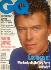 GQ magazine no 29 NOVEMBER 1991 DAVID BOWIE COVER & INTERVIEW