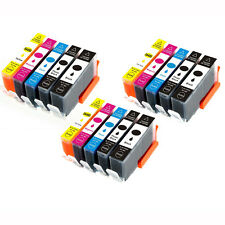 15 PK Ink Cartridges + chip for use on HP 564XL Photosmart 7510 7515 7520 7525