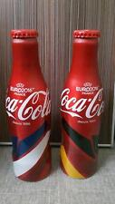 Malaysia Coca-Cola LIMITED EDITION UEFA EURO 2016 ALUMINIUM BOTTLE SET (2BOTTLE)