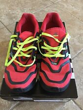 ADIDAS ENERGY BOOST VIVID RED/ NEO IRON SIZE 12 W/ FREE SHIPPING & TRACKING!!!