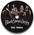 BLACK STONE CHERRY ROCK GUITAR TABS TABLATURE SONG BOOK LIBRARY SOFTWARE CD