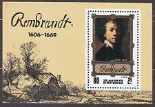 KOREA Pn. 1983 MNH** SC#2269 s/s,  Rembrandt Paintings.