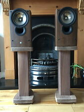 Legno di noce massello Speaker Stand rc60 Deluxe, Custom Audio Visual Furniture