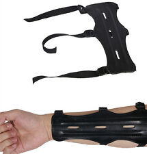 Forearm Protector Arm Guard Adjustable 3 Strap Hunting Archery