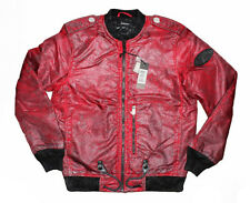 DIESEL J-ZEALAND RED JACKET SIZE M 100% AUTHENTIC