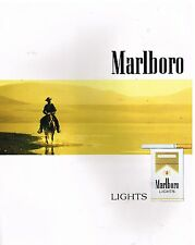 Publicité Advertising 1988 Les Cigarettes Marlboro Lights